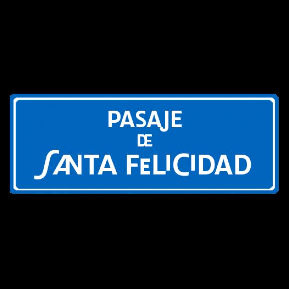 Pasaje Santa Felicidad