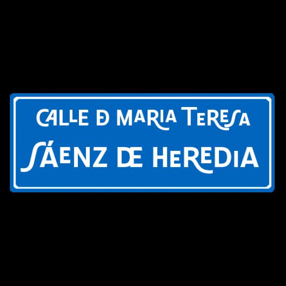 Calle de María Teresa Sáenz de Heredia