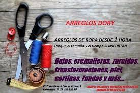 Arreglos de ropa Dory
